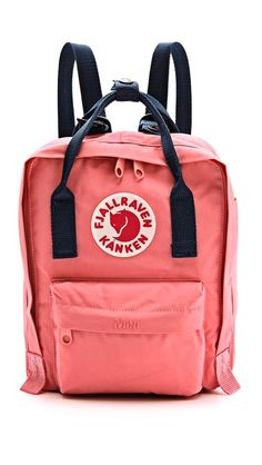 Fjallraven Kanken Mini Backpack ~ I need this for festival season next year!