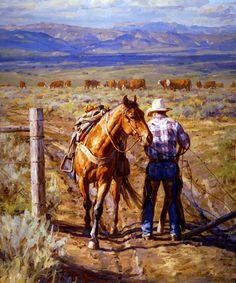"""Ladies First"" by Jason Rich (Cowboy Artist)"