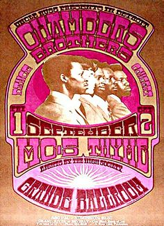 This concert postcard is from 9-1/2-67. at the grande ballroom..The bands performing were,  SEPTEMBER 1/FRIDAY..1967. --The Chambers Brother...