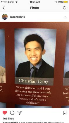 Untitled Funny Shit, Funny Drunk Texts, Funny Relatable Memes, Funny Jokes, Memes Humor, Funny Stuff, 9gag Funny, Best Yearbook Quotes, Senior Yearbook Quotes