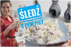 3 przepisy na śledzia na Ostatki przepis | Kotlet.TV Grains, Rice, Food, Pineapple, Essen, Meals, Seeds, Yemek, Laughter