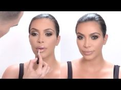 Kim Kardashian Full, Kim Kardashian Makeup Looks, Full Makeup, Eye Makeup, Ariel Tejada, Makeup Looks Tutorial, Makeup Tutorials Youtube, Red Carpet Ready, Beauty Hacks