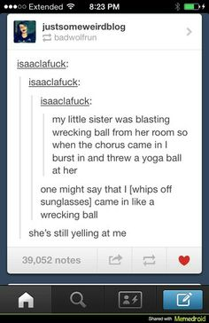 Tumblr just seems like a fun place to be