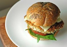 Italian Chicken Burgers at Paprika Red