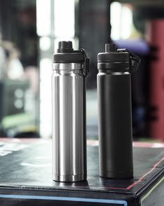 750ml large capacity stainless steel thermos portable vacuum with rope – Creationsg Portable Vacuum, Stainless Steel Thermos, Vacuum Flask, Vacuums, Water Bottle, Car, Automobile, Vacuum Cleaners, Water Bottles