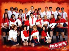 Damn I used to be so obsessed with rebelde and rbd as a littke girl lol