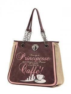 9bbdadfd0e Borsa Le Pandorine linea Classic – Capiente shopping bag ha una pratica  tasca interna divisoria con