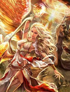 #AweSomEilluStrationS | Angeles evolved legend of the cryptids