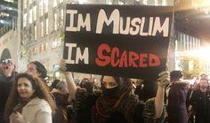 """""""Ich bin Muslim, ich habe Angst"""": In New York City zeigt diese Frau, welche..."""