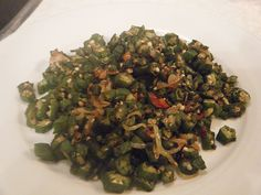 A superb vegetarian recipe for fry ochro (okra) as prepared in Trinidad and Tobago and other Caribbean Islands.http://caribbeanpot.com/another-use-for-ochro-besides-callaloo /