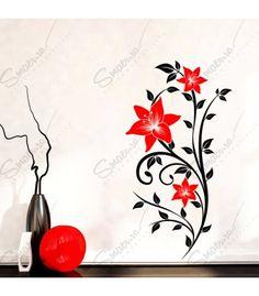 Sticker - Floral Passion  Smaer.ro vine in ajutorul tau pentru a crea o atmostfera unica in casa ta. Decoreaza incaperea cu Sticker - Floral Passion, iar starea ta de spirit va fi una pozitiva pe tot parcursul zilei. Un sticker decorativ cu personalitate pentru a anima casa repede si fara efort. Acest model este potrivit pentru living unei case primitoare, armonioase si pozitiva. Alege culoriile din care sa fie compus stickerul tau si bucura-te de atmosfera unica.