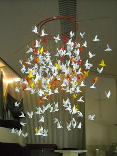 Birds In Hands origami doves weekend pentecost mom Source: website close encounters florida birds wind current Source: website hands . Origami Paloma, Origami Dove, Origami Birds, Kirigami, Altar Design, Origami Mobile, Church Stage Design, Church Banners, Decor Crafts