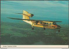 1946-....: Modern Era - Aurigny Trislander G-BCNO, c.1970s - ETW Dennis Postcard