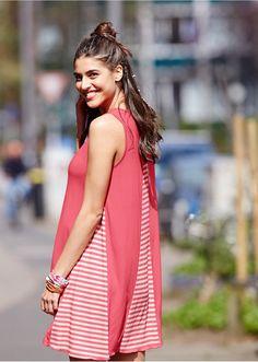 Sukienka w paski Atrakcyjna sukienka w • 84.99 zł • bonprix