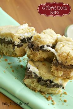 Busy Mom's Helper: Family fun, food, recipes and crafts.: S'Mores Cookie Bars