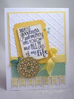 Surely Goodness by T. Joy - Cards and Paper Crafts at Splitcoaststampers