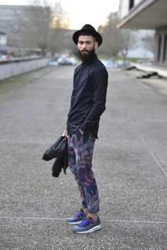 Air max One Patta edition Floral trousers Marc jacobs Wool shirt Sandro