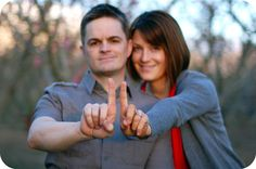 How cute! We are planning our 23rd Wedding Anniversary trip now... this pose will be a must!
