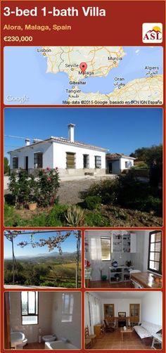 3-bed 1-bath Villa in Alora, Malaga, Spain ►€230,000 #PropertyForSaleInSpain