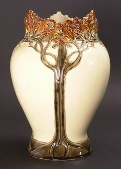 Art Nouveau Hautin and Boulanger vase ~ 1900