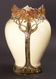 Art Nouveau Hautin and Boulanger Vase, circa 1900