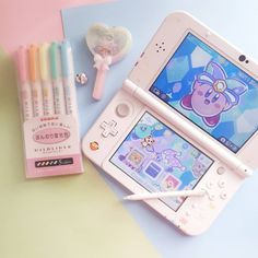 I have this wallpaper on my nintendo lol - kawaii items UwU - Game's Nintendo 3ds, Nintendo Switch, Baby Baby, Kawaii Games, Accessoires Iphone, Kawaii Room, Cute Games, Gamer Room, Christmas Movies