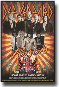 Def Leppard Rock of Ages Tour $9.84 #DefLeppard #Poison