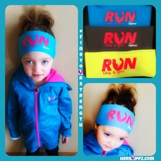 "Seriously. it's awesome to ""RUN like a girl"" #addiestrong Only $7.99 Girl RUN Headband http://hersuppz.com/her-suppz-girls-run-bondiband.html"