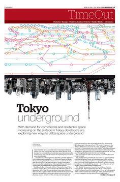 JT On Sunday TimeOut section. Tokyo Underground. April 13, 2014: http://jtim.es/vIZY5