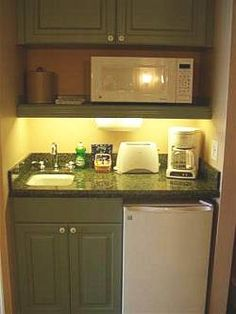 kitchenette for the bunk room