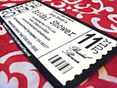 Genre Ticket Template   School Ideas    Ticket