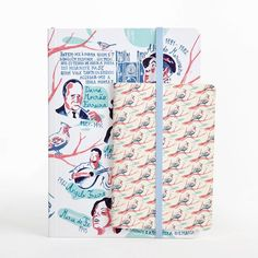 Illustrated Notebooks from Fado's  Collection. Limited editions of products illustrated by renowned Portuguese artists.