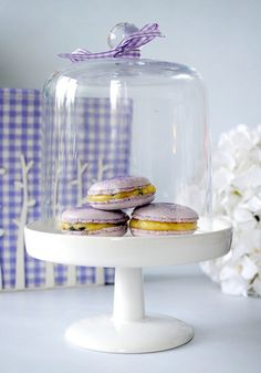 Home-made Passion Fruit Macarons