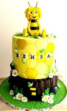 maya the bee cake - Cake by Ral