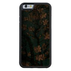 Branches of an Almond Tree in Blossom green Carved® Walnut iPhone 6 Bumper. See pictures Summer Iphone Cases, Iphone 6 Covers, Free Text, Flower Paintings, Landscape Pictures, Apple Iphone 6, Branches, Almond, Girly
