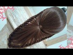 Hair Styles – Hair Care Tips and Tricks Girly Hairstyles, Fishtail Braid Hairstyles, Hairstyles For School, Braided Updo, Braided Hairstyles, Ladies Hair Style Video, Hair Puff, Braids, Nuevas Ideas
