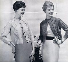 60's vintage knitwear