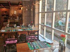 The Blue Fish Cafe and Restaurant Portland Portland, Restaurant, Fish, Bar, Furniture, Home Decor, Restaurants, Interior Design, Home Interior Design