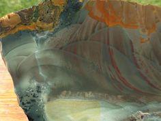 TCR Blue Mountain Jasper Agate lapidary Cab Slab Outrageous Color Orbs 186 Grams | eBay