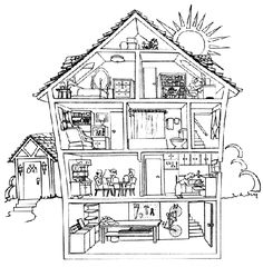 English Exercises: Prepositions of Place
