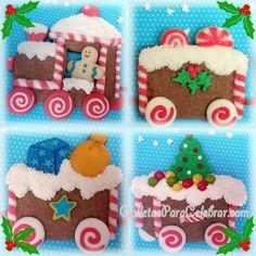 2º Reto G6: Galletas de Navidad – Tren navideño