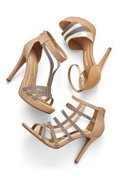 Glam - Heels - Sandálias - Trend - Style -  Ref. 16-17908 | 16-17804 |  16-18607