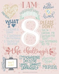 We made it to the final Enneagram type, which makes me just a little sad because illustrating these has been so fun💗 I have some ideas for…