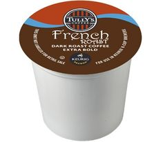 Tully's French Roast Keurig K-Cups For Sale at CapeJava.coms