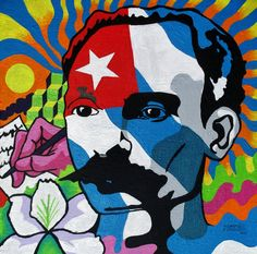 This painting will be part of a collective exhibition in tribute to the Cuban poet Jose Marti on his birthday January Here is some of his poetry: I . Afro Cuban, Cuban Art, Conquistador, Graffiti, Ap Literature, Hispanic Heritage Month, Ap Spanish, Spanish Artists, Freedom Fighters