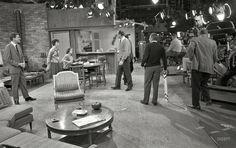 """The Dick Van Dyke show"" set!"