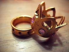King  Queen Rings