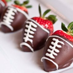 Super Bowl Strawberries.