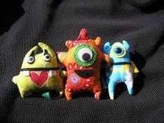 monster keychains | Flickr: Intercambio de fotos