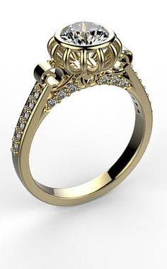 Cinderella Engagement Rings On Pinterest